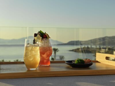 Mykonos Earth Suites – Deluxe Room with Jetted Tub Sea View (2)