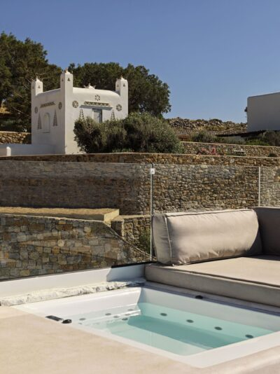 Mykonos Earth Suites – Deluxe Room with Jetted Tub Sea View (4)