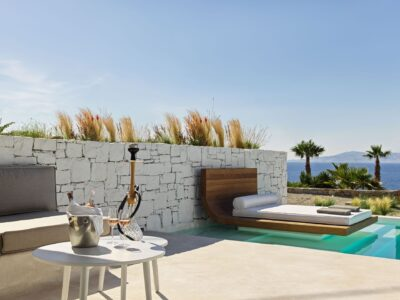 Mykonos Earth Suites – Executive Suite with Private Pool Sea View (1)
