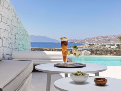 Mykonos Earth Suites – Executive Suite with Private Pool Sea View (12)
