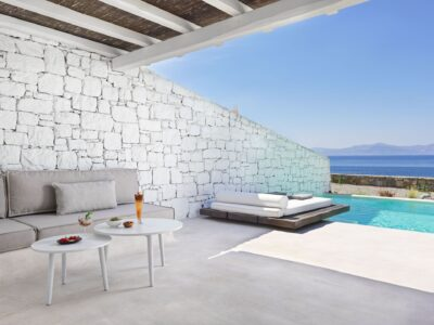 Mykonos Earth Suites – Executive Suite with Private Pool Sea View (13)