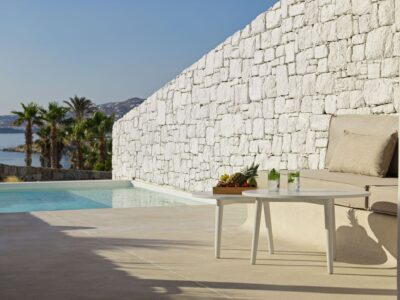 Mykonos Earth Suites – Executive Suite with Private Pool Sea View (20)