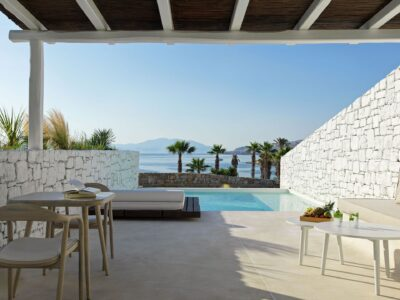 Mykonos Earth Suites – Executive Suite with Private Pool Sea View (21)