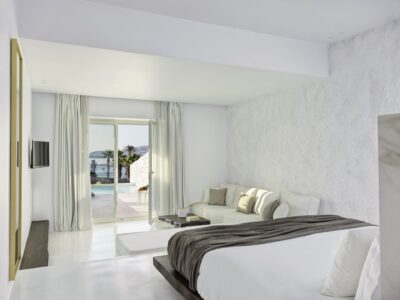 Mykonos Earth Suites – Executive Suite with Private Pool Sea View (23)