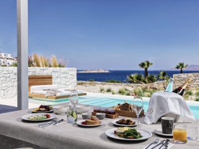 Mykonos Earth Suites – Executive Suite with Private Pool Sea View (24)