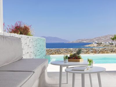 Mykonos Earth Suites – Executive Suite with Private Pool Sea View (4)
