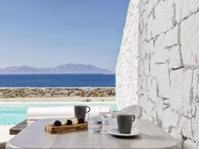 Mykonos Earth Suites – Executive Suite with Private Pool Sea View (5)