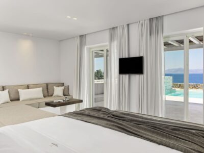 Mykonos Earth Suites – Executive Suite with Private Pool Sea View (7)